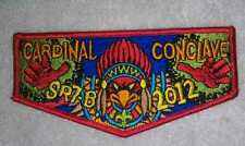 SR-7b 2012 Conclave Red Brd Conclave OA flap sold out 300916