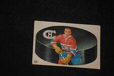 JEAN GUY TALBOT 1962-63 PARKHURST SIGNED AUTOGRAPHED CARD #51 CANADIENS