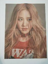 "K-POP BLACKPINK Mini Album ""KILL THIS LOVE"" Official Rose Folded Poster"