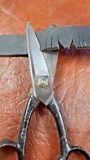 Lederschere  Sattler Handgeschmiedet Schere historisch selbstschärfend