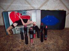 NARS Guy Bourdin PROMISCUOUS Ltd Ed Holiday Velvet Matte & Gloss Lip Pencil Set