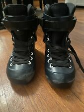 USD Sway / Powerslide Zoom Lomax sz 39-40/ 7-7.5 boot With New USD Sway Liner