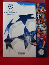 PANINI CHAMPIONS LEAGUE 2012/2013 album vuoto album CL 12/13