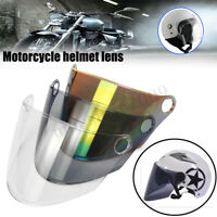 Motorcycle Full Face Helmet Shield Visor Lens Smoked Clear Rainbow For GXTM11