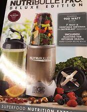 NutriBullet Pro Deluxe Edition 900 Watt 13 Piece Blender, NB9-1301 NEW