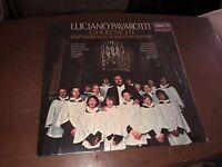 LUCIANO PAVAROTTI O HOLY NIGHT LP Original Vinyl Record Album BRAND NEW SEALED