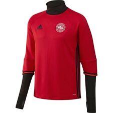 Adidas Mens Long Sleeve Denmark Football Training Top Size L BNWT RRP £50 Red