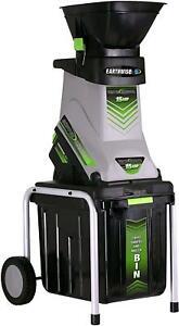 Electric Garden Wood Chipper Shredder Mulcher 15-Amp With Collector Bin New