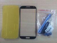 Kit reparacion completo Cristal de Pantalla NEGRO para Samsung Galaxy S4 I9500