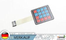 16 Tasten Matrix Folientastatur Switch Keypad Keyboard für Arduino Raspberry Pi