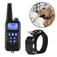 Recharge Dog Shock Collar With Remote Waterproof Electric for All Pet Training