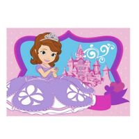 Kinderteppich Prinzessin Sofia 133 x 95 Kinder Teppich Disney Schloss