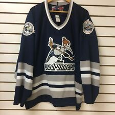 Vintage Toronto Road Runners Hockey Jersey Size Xl SP 2003-04