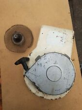 Briggs & Stratton 5hp pull cord recoil starter side cover. merry tiller