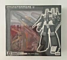 Transformers Takara Ehobby 22 Black Starscream MISB Free Shipping