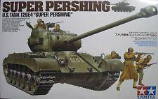 "1/35 US T26E4 ""Super Pershing"" Tank Model Kit by Tamiya"