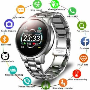 New Smart Watch 2020Men Heart Rate Blood Pressure Information Waterproof Android