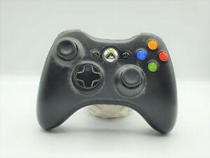 Controller joystick pad per xbox 360 wireless microsoft originale usato nero