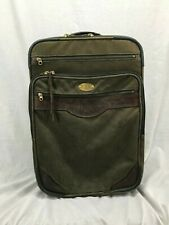ORVIS Vintage Battenkill Carry On Rolling Luggage Travel Canvas Sport Fishing Z9