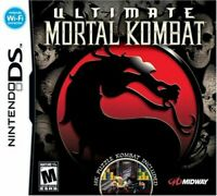 Ultimate Mortal Kombat - Nintendo DS Game [DS 3DS Puzzle, Puzzle Kombat] NEW
