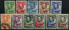 Bechuanaland 1938-52 SG#118-128 KGVI Definitives Used Set #D26371