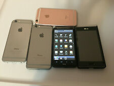 Apple iPhone 6S part & lg & htc lot as is