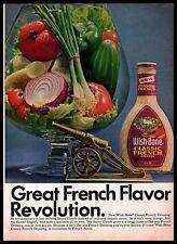 1969 Wish-bone Classic French Revolution Salad Dressing Bowl Vintage PRINT AD