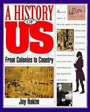 A History of US: Book 3: From Colonies to Country Hakim, Joy Paperback
