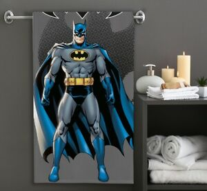 Batman Bath Towel Beach Dark Knight Superhero 100% Cotton 70 x 140 CM