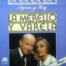 CD LA MERELLO Y  VARELA  - ayeres y hoy con la, Tango