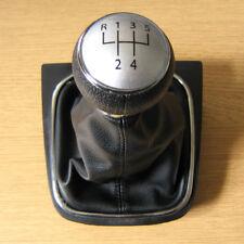 Pomello Cambio in 5 Marce e Cuffia Pelle VW Golf V VI mk5 mk6 Tiguan EOS