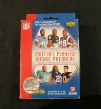 2007 UPPER DECK NFL PLAYERS ROOKIE PREMIERE 30 CARDS - MANY STARS