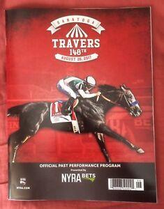 2017 Travers Stakes Program, Saratoga, West Coast Beats Big Field,Songbird Upset