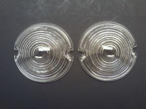 CHEVROLET CHEVY 1953 BEL AIR 150 210 DELUXE PARK LIGHT TURN SIGNAL LENSES RATROD