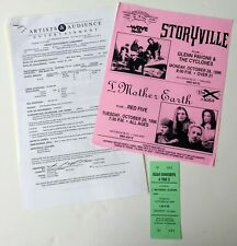 I Mother Earth Concert Contract Red Five Pittsburgh 1996