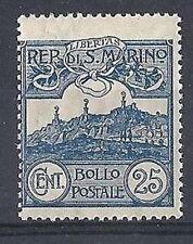 1903 SAN MARINO VEDUTA 25 CENT MNH **  - RR8587