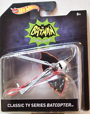 HOT WHEELS BATMAN 2016 CFLASSIC TV SERIES BATCOPTER SCALE 1:50