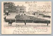 Nylands Batalion~Sweden Military Antique Postcard~Uudenmaan Pataljoona 1900s