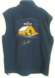 Vintage Cool Steamboat Ski Fleece Vest XXL Very Good Condition