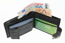 LEATHER WALLET(107) /CREDITCARD/PHOTO HOLDER/COIN POUCH WITH ZIP SW-107_09