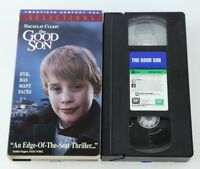 The Good Son VHS Video Macaulay Culkin Elijah Wood Thriller Ian McEwan