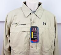 Under Armour UA Fishing Vented Loose Fit Mens Shirt Offshore Armour Heat Gear XL