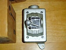 GE CR101Y400H Manual Motor Starter Enclosure Type 4 Enclosure Lever Operated NOS
