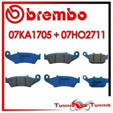 Pastiglie Freno BREMBO Anteriori CC + Post. CC HONDA XL V TRANSALP 650 2000 2001