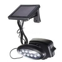 10 LED Solar Power PIR Motion Sensor Wall Light Outdoor Garden Lamp Waterproof