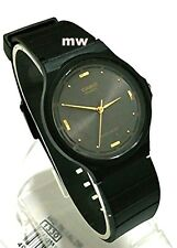 Authentic Casio Mens Unisex Watch MQ-76-1A Black Resin Analog Quartz Battery New