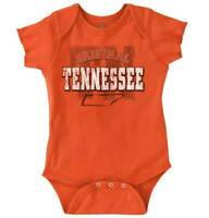Tennessee Student University Football College Newborn Romper Bodysuit For Babies