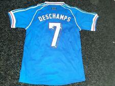 Maillot Didier Deschamps Équipe de France 98 Football Taille L