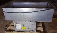 Atlas Cold Food 3 Pan WCMD-C-3 Metal Refrigerated Drop In Stainless Steel Buffet