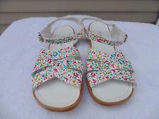Saltwater women's floral sandals size 9